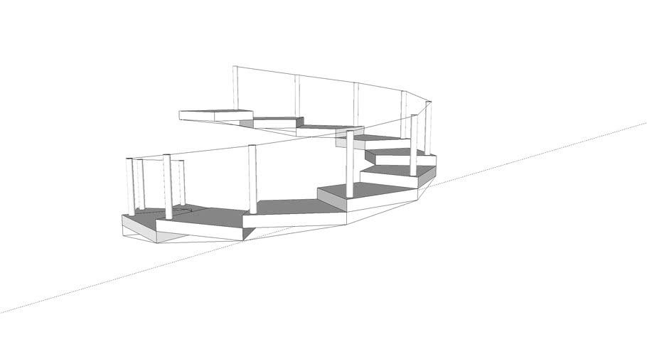 旋轉樓梯練習
