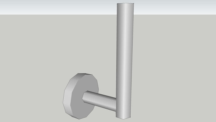 Roll holder for spare Toilet Rolls - HansGrohe Logis 4051700
