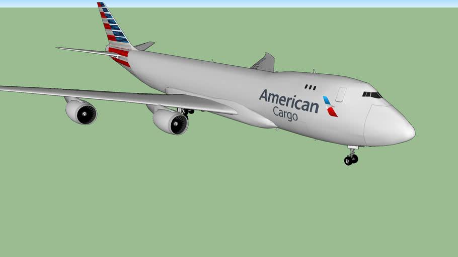 American 747-8F