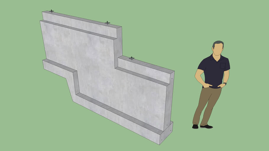 Stemwall Step with Brick Ledge
