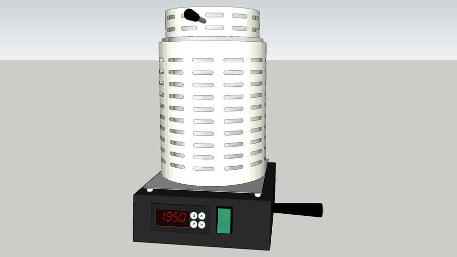 Rio Grande 1kg Tilt-Pour Automatic Melting Furnace