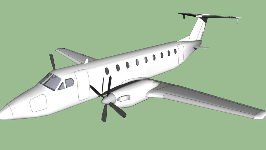 Beechcraft-1900C Airliner