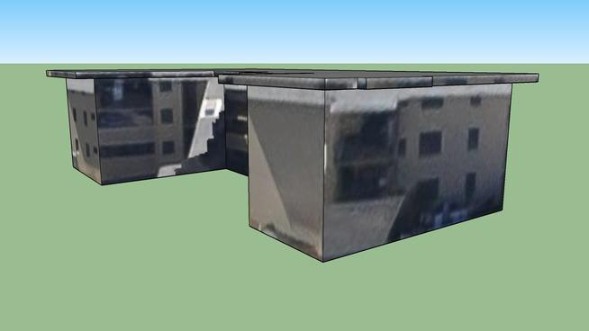 火奴鲁鲁, 夏威夷, 美国的建筑模型