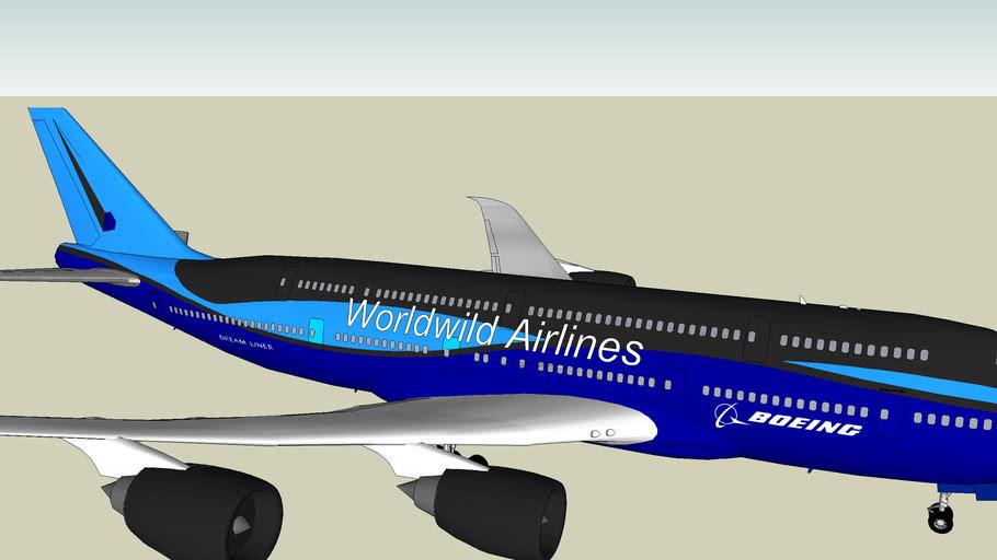 747-1000 Worldwild Airlines