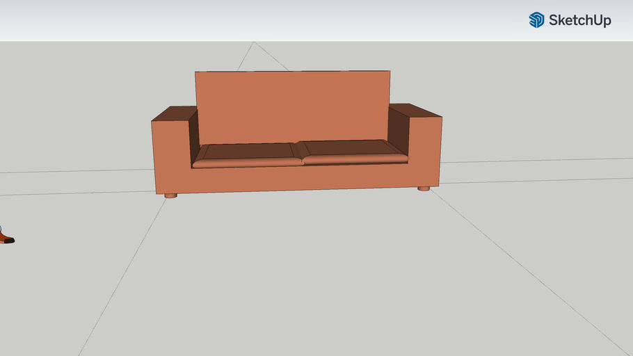 brun soffa TE20b