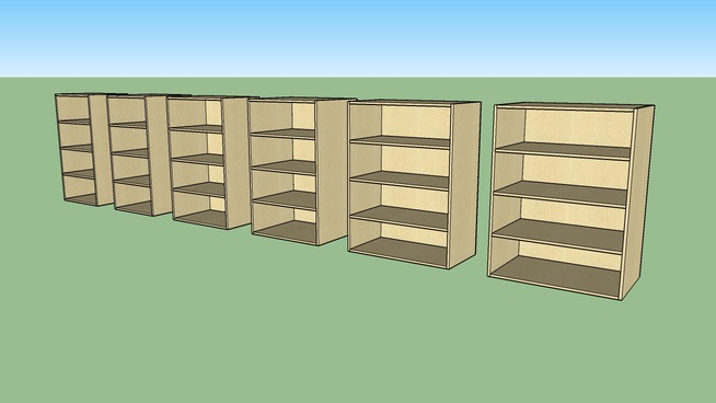"Cabinets Plus - 3-shelfs_48""H Uppers_237_25-36"