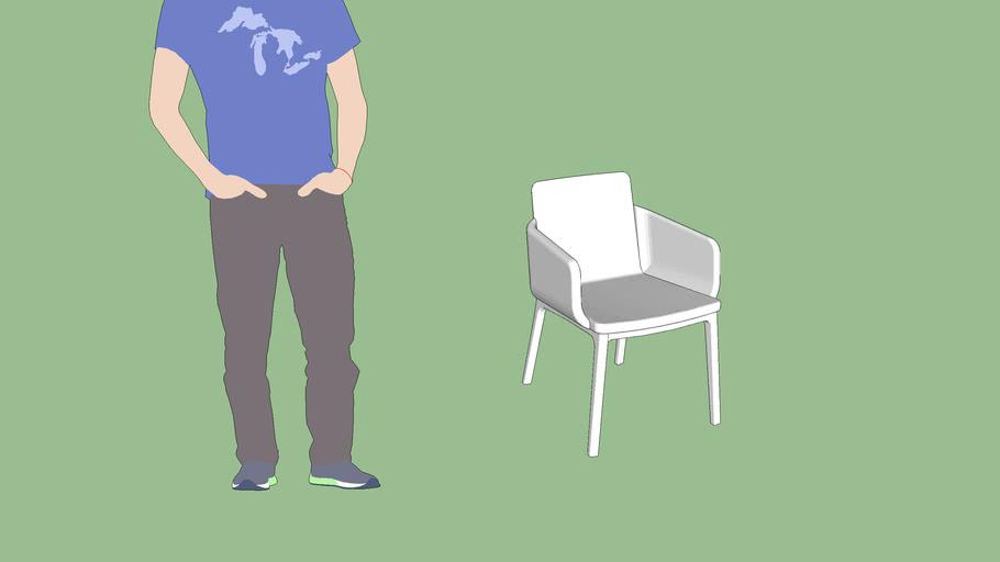 Cadeira Lapa com Braço