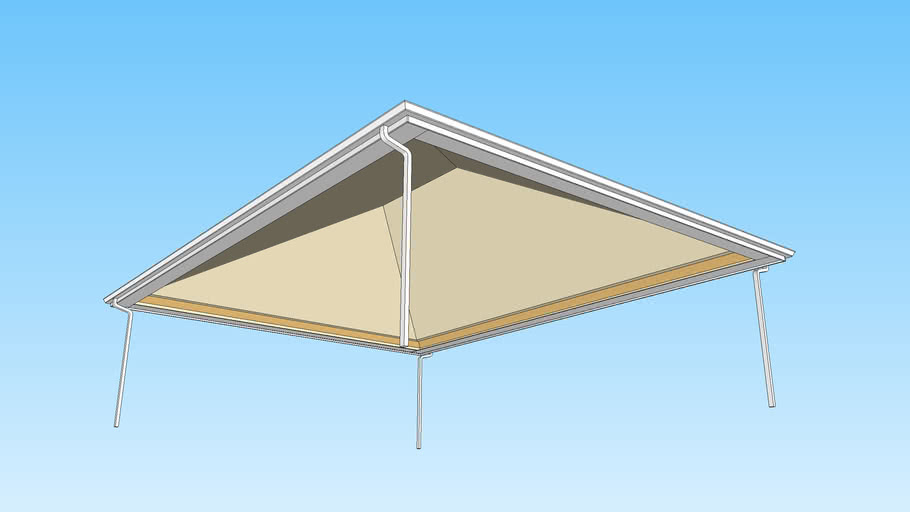 Hip Rafter Roof - No Framing