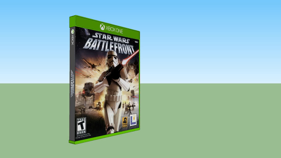Star Wars: Battlefront Classic Xbox compatible with Xbox One game case