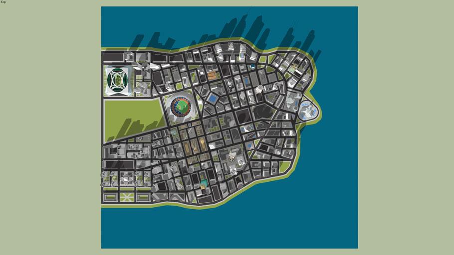 Downtown Mega City Revised