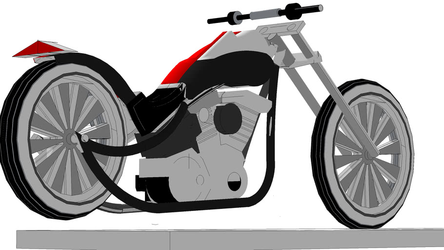 custum scoot motorcycle