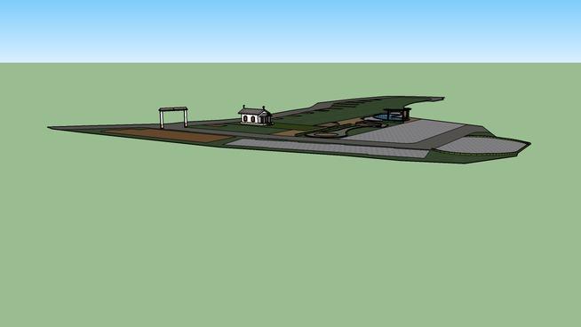 Plan Layout Of Matrix Habitat