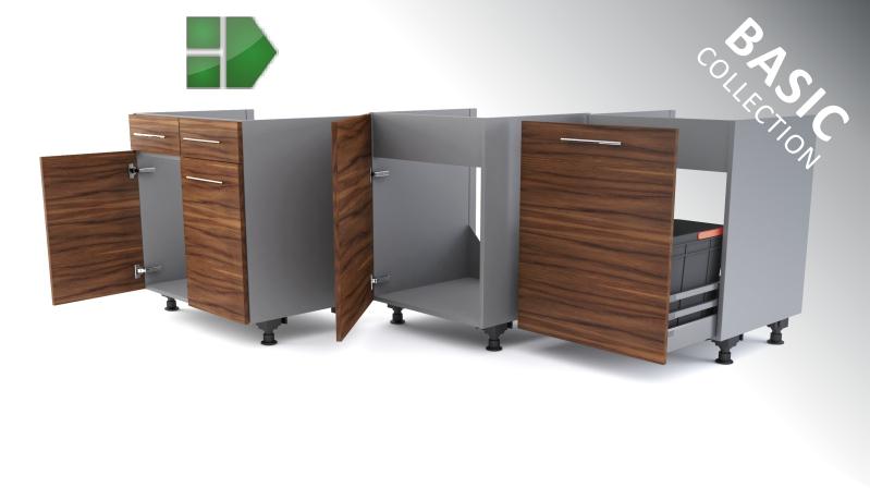 Kitchen cabinets Base sink