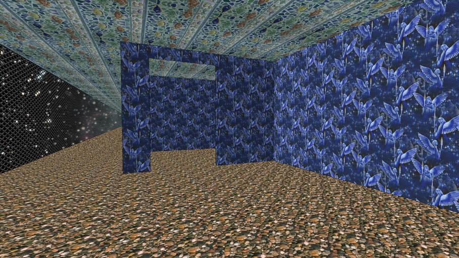 Large Blue Maze - Sketchup 6