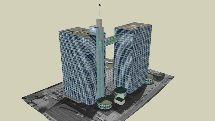 Belgacom Towers, Brussel