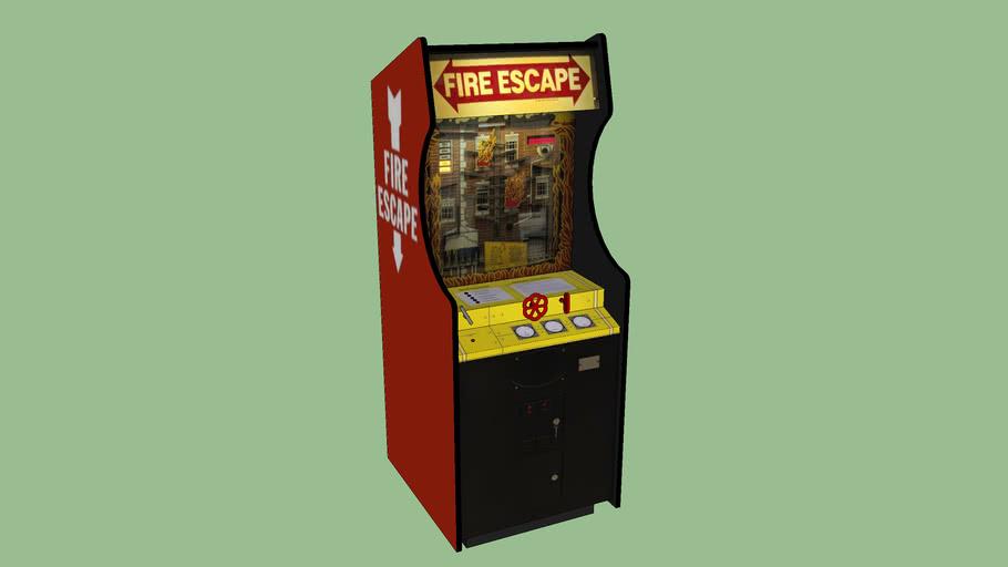 Fire Escape EM Arcade Game