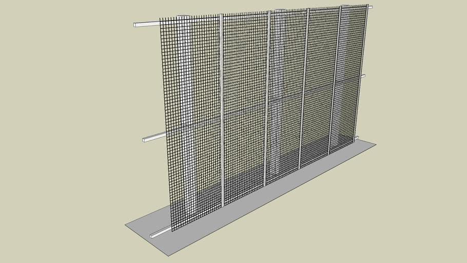 03 Guardian Fence System - SecuriGuard Mesh