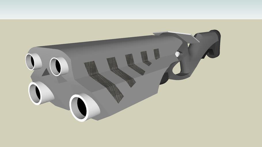 Anarchania Automatic railgun