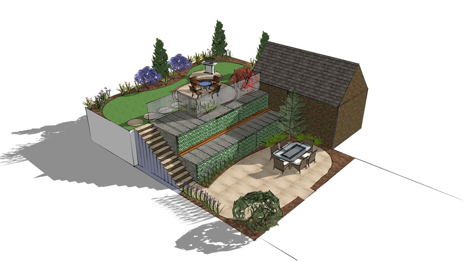 Plot 157 (harringtons) garden design