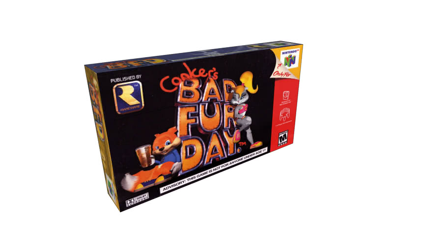 Conker's Bad Fur Day (Nintendo 64) Box