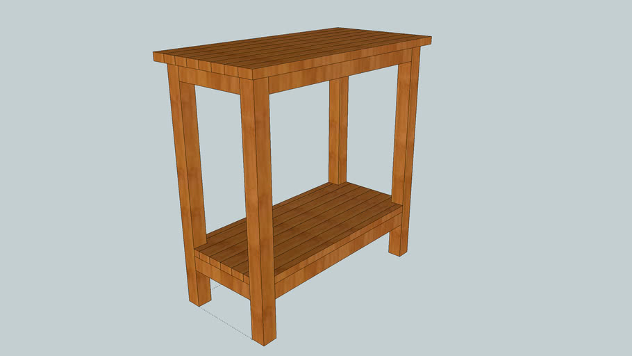 Long side table