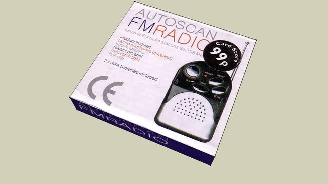 Mini FM Radio Packeging