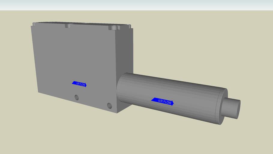 Modular Venturi Vacuum Pumps w/ Pneumatic Blow-off