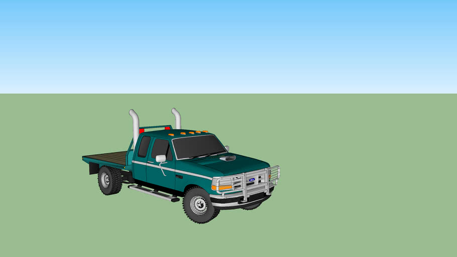 ford f250 flatbed 4x4