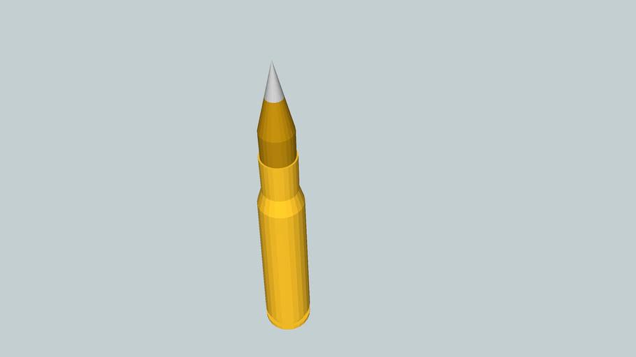 .50 BMG Bullet