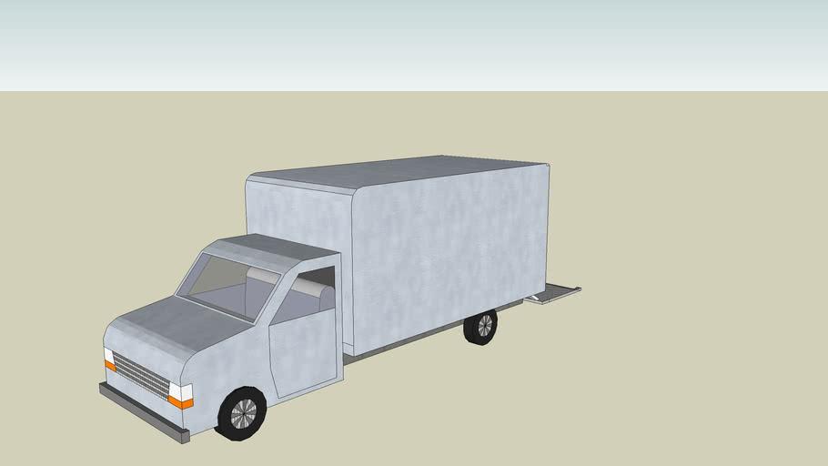camionette de déménagement