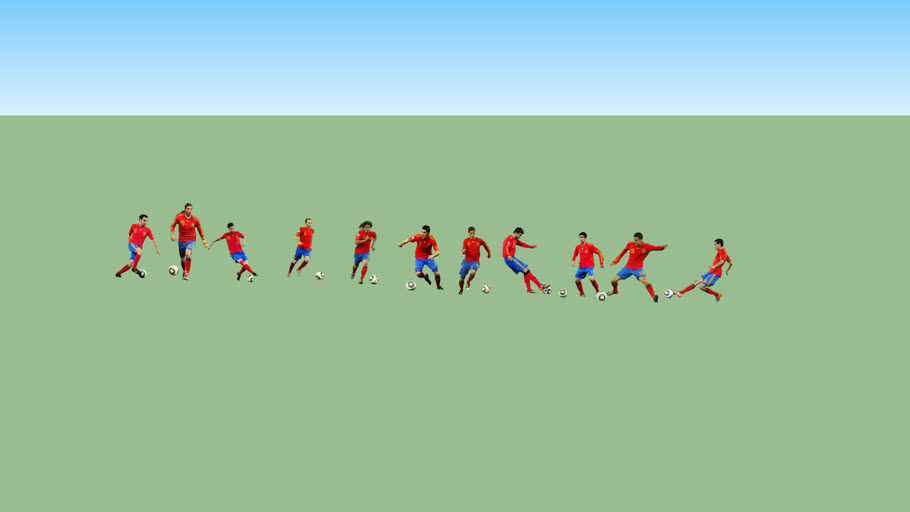 Spain Soccer Team 2010