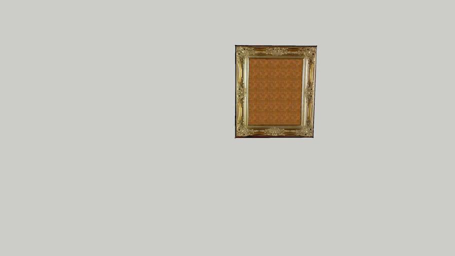 Gold Ornate Painting Frame