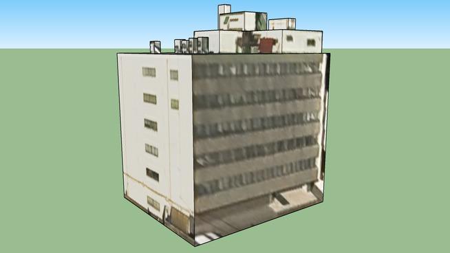 Building in Kita 20, Tokyo, Japan