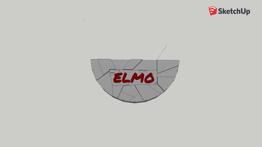 Elmo Plaque