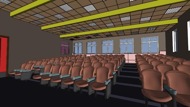 Teatro - Cinema - Auditório