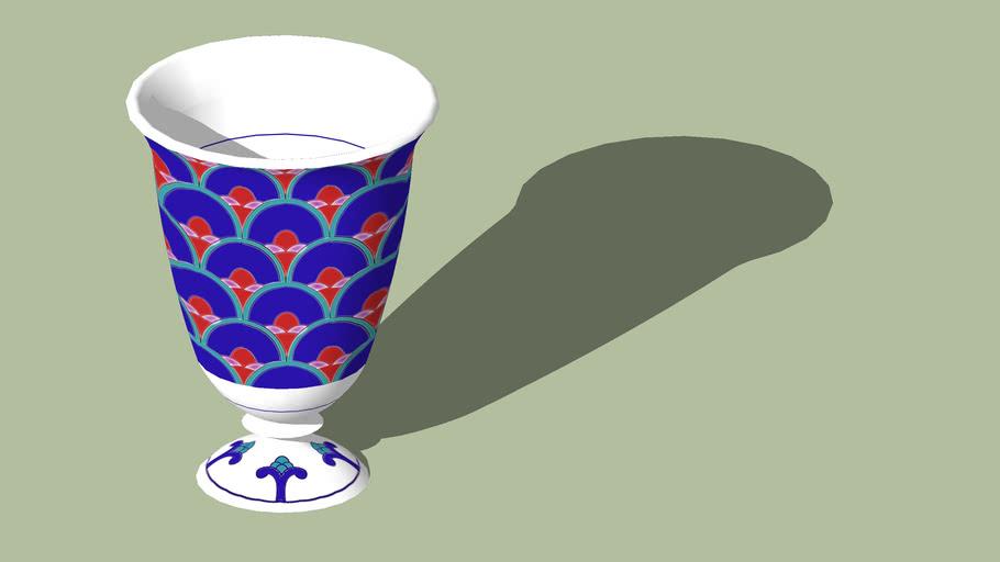 Glass Japanese wine glass