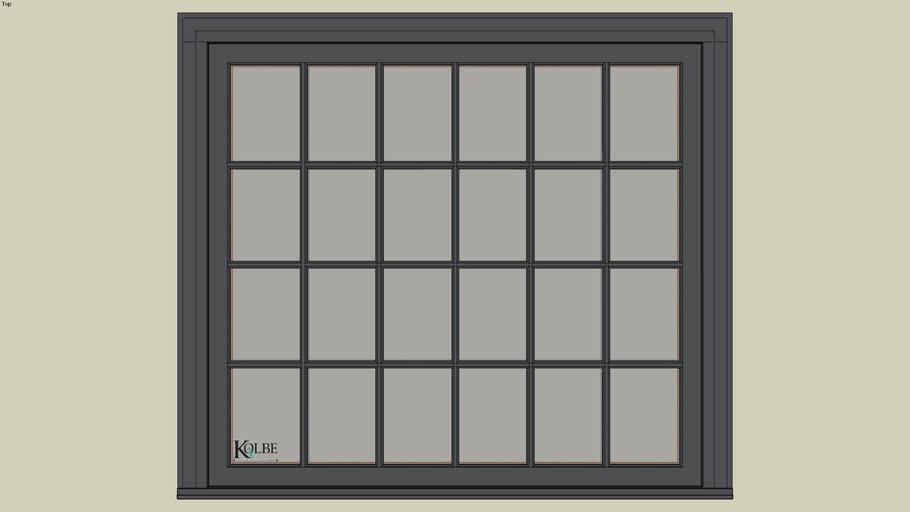 """Kolbe Ultra Casement KUN346P (F.S. 5'-0"""" x 4'-6"""" R.O. 5'-0 1/2"""" x 4'-6 1/2"""")"""