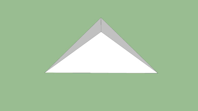 Triangle simple Roof