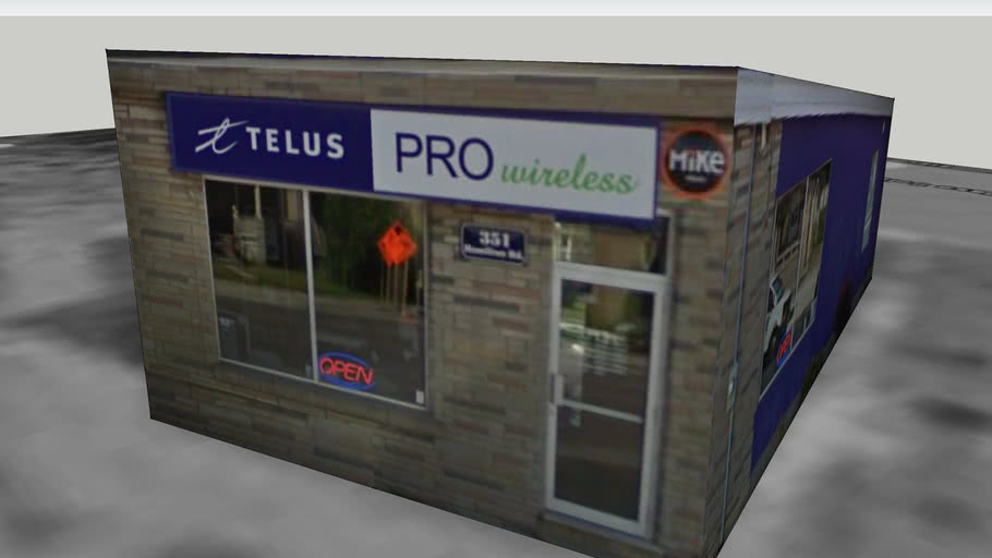 Tellus Pro Wireless Electronic Store 3d Warehouse