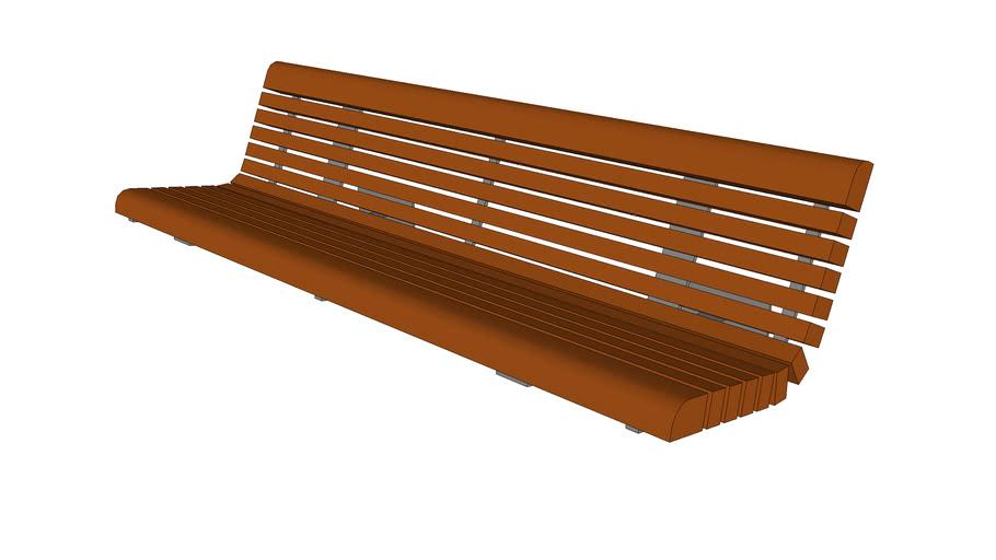 "Balustrade 72"" Bench"