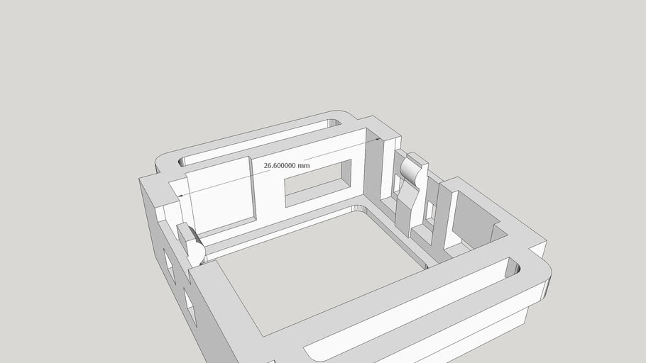 Main Case for O Watch Base Kit (not rounded)