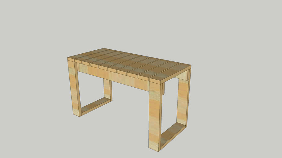 Bench Chair Woodworking
