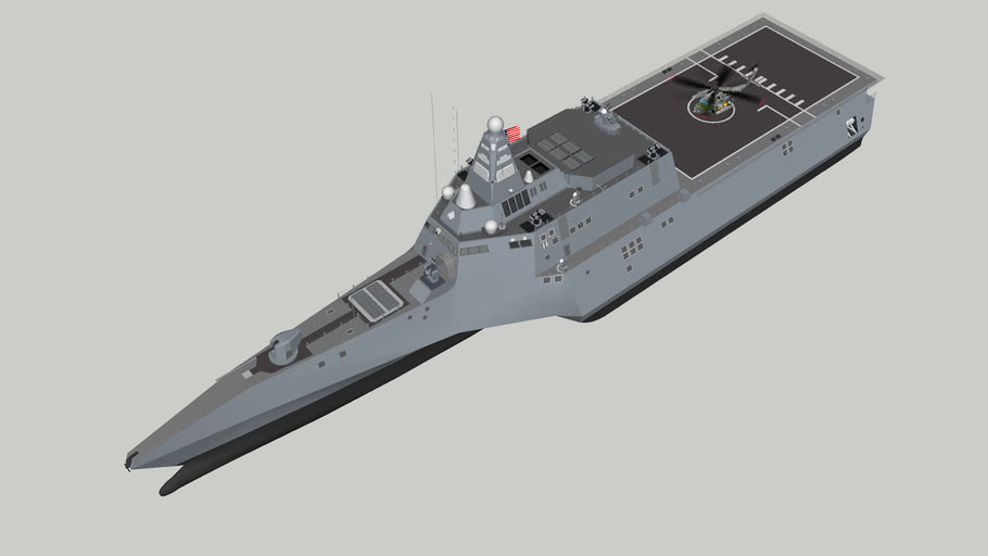 US_NAVY+USSN+DESTROYER+INDIPENDENCE+CLASS+TOTAL+UPGRADE