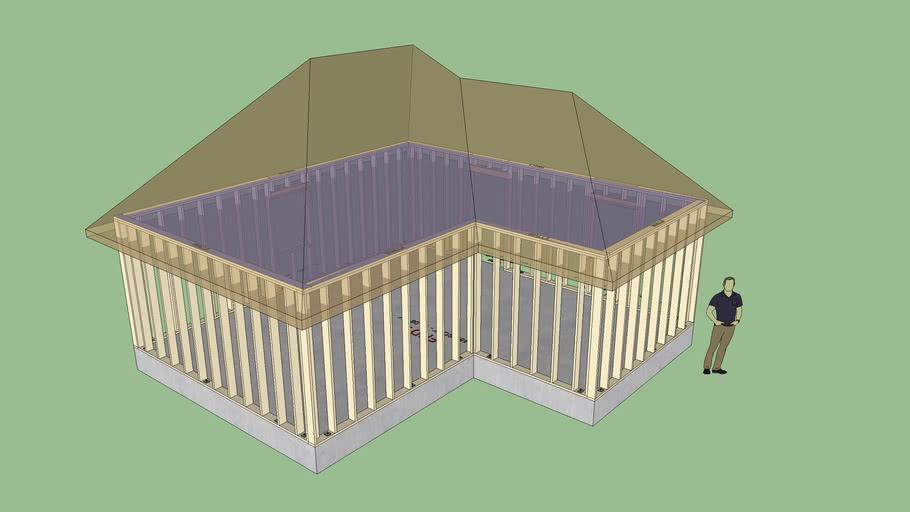 Complex Roof Primitive Test 2