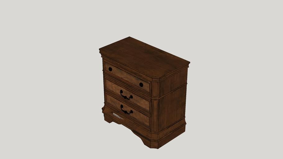Blenheim 3 Drawer Nightstand