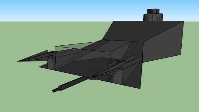 INTA F-11 Sabershot Heavy Fighter