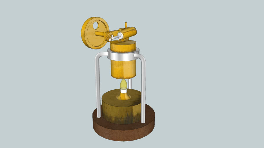 candle power steam engine