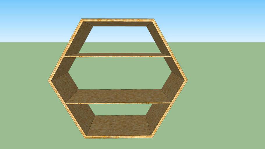 Meuble hexagone