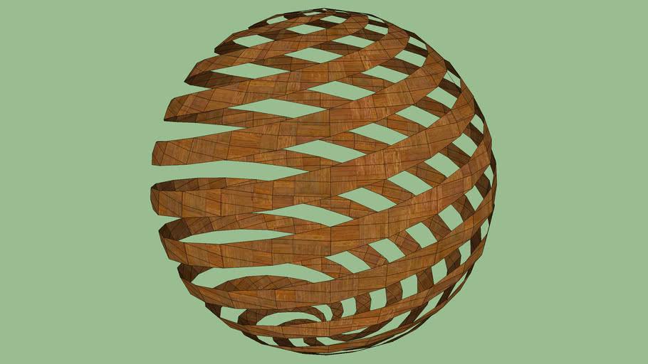sphère spirale