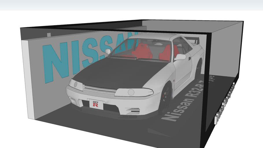 Nissan R32-R Type(An original writer:FVDESIGNS,an adapter ; an editor:RACE)
